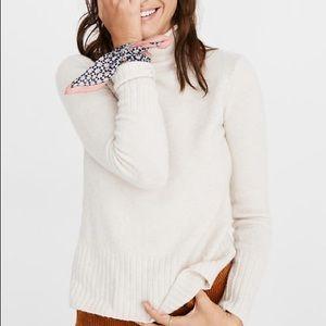 Madewell mock turtleneck sweater